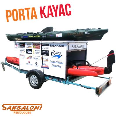 Remolque porta Kayaks a la carta