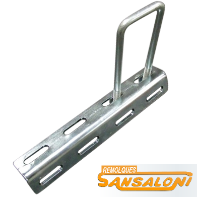 Soporte angular para guardabarros