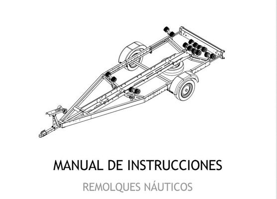 Manual remolques Náuticos