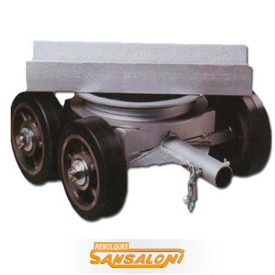 Trineo 360º ruedas caucho